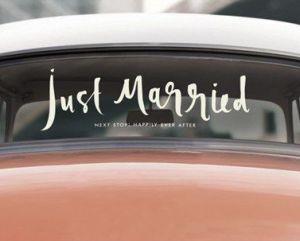 Svatební auto_autokabelky